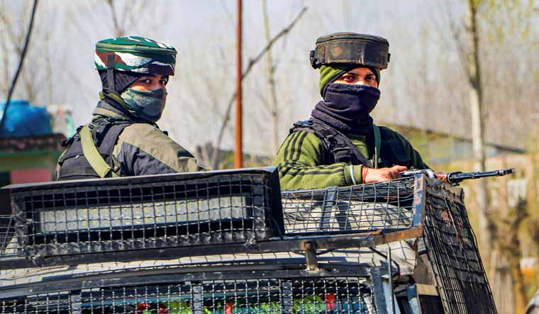 'Recently joined militant held in Pampore'